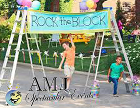 AMJSE helps you create block parties for your friends and neighbors that no one will forget!