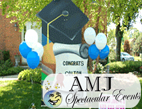 AMJ Spectacular Events can give your graduate a party they won't forget!