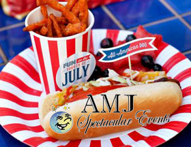 AMJSE Spectacular Events provides parties for ALL holidays - Memorial Day, Independence Day, Labor Day - and birthdays, of course!